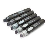Markere Neuland BigOne®, vârf teșit 6-12 mm, 5/set
