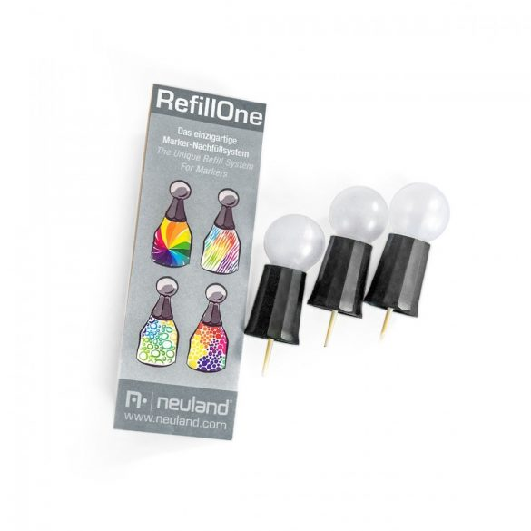 Capac Pentru Refill cu Cerneala RefillOne: Set/3 buc
