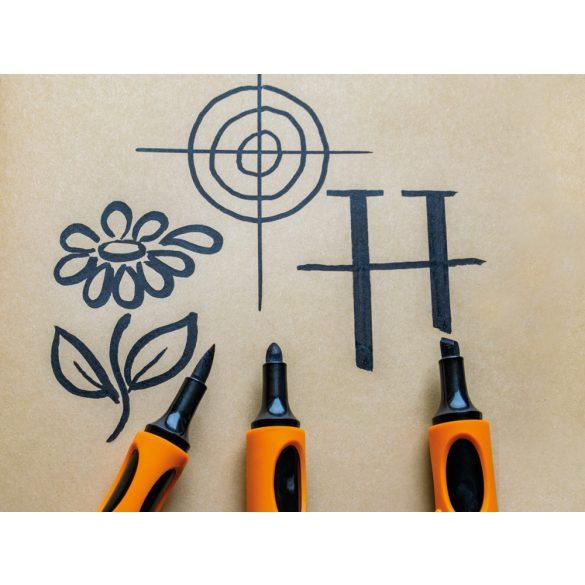 Outliner marker, Neuland No.One® Outliner, varf rotund, 2-3 mm