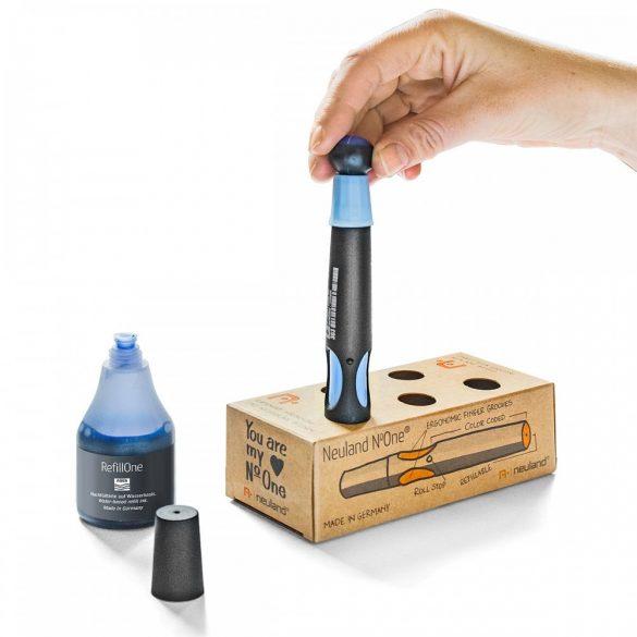Set flipchart marker Neuland No.One®, varf tesit, 2-6 mm, 5 culori/set