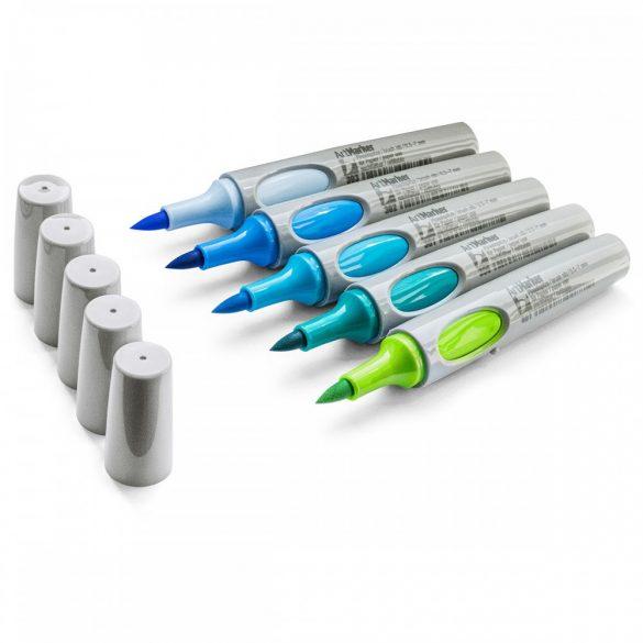 v Neuland No.One® Art, cu vârf pensulă 0,5-7 mm: 5/set