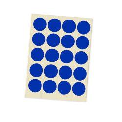 Etichete Bulina 20 mm - Albastru