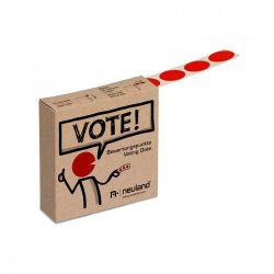 VOTE! Marking Dots, roll - Red