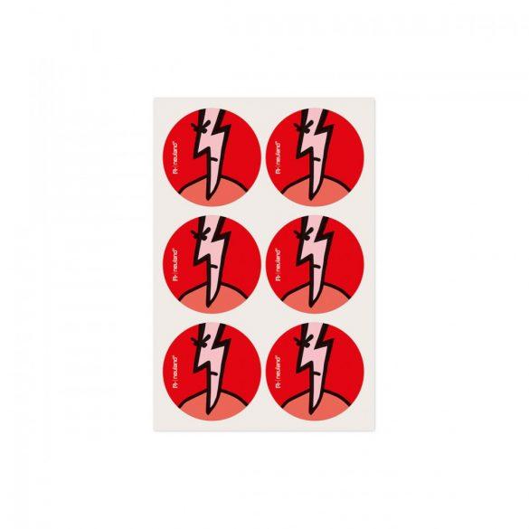 Stickere Neuland VizDots, 39mm, Fulger
