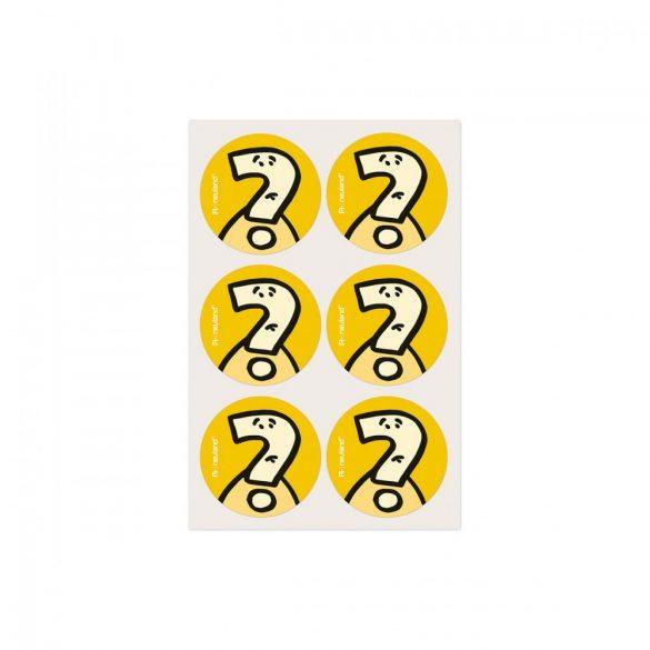 Etichete bulina Neuland VizDots, 39mm, Intrebare