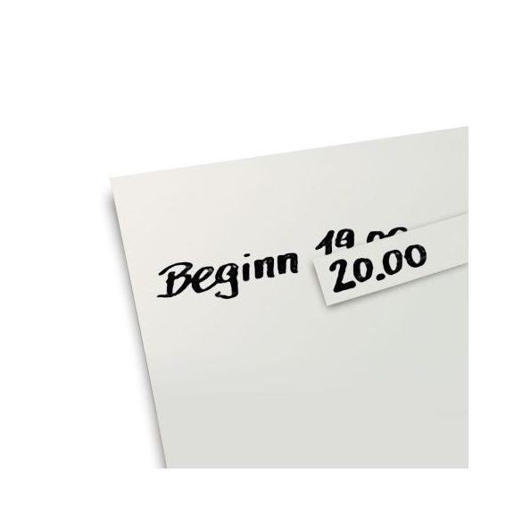 Sticker corector pentru hârtie panou textil Neuland PinboardPinboard, Alb