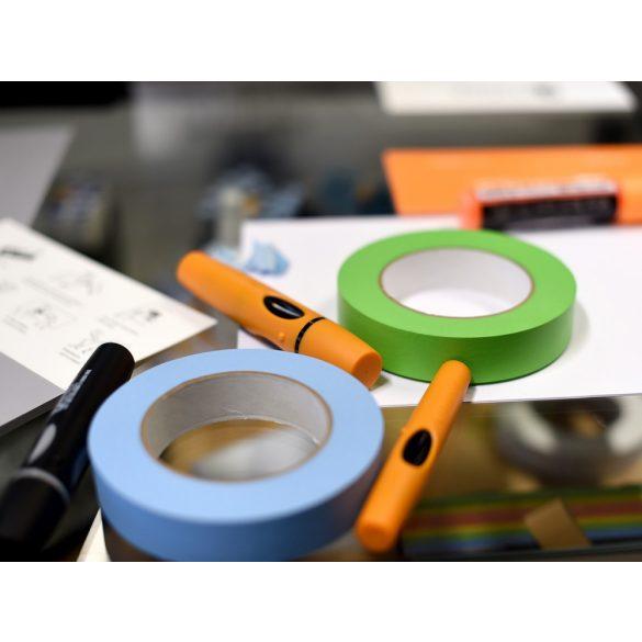 Banda adeziva de hartie, Artist Tape, 54,8 m lungime, 25,4 mm latime, Albastra