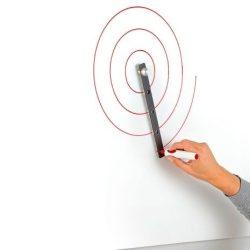 Compas magnetic negru pentru Whiteboard