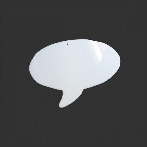 Pictograme pentru Afirmatii Vizuale, ShapeOne, 27 x 20 cm, simbol Balon de Vorbire