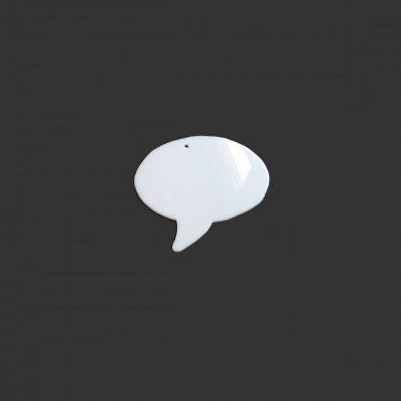 Pictograme pentru Afirmatii Vizuale, ShapeOne, 15 x 12,8 cm, simbol Balon de Vorbire Mini