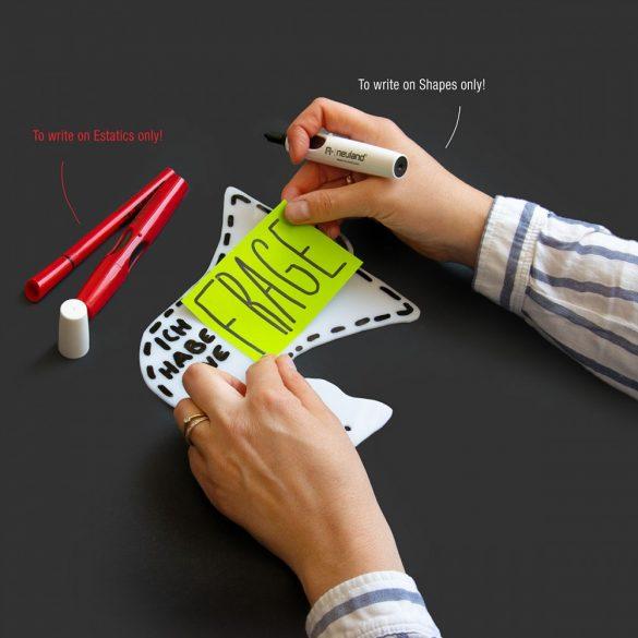 Pictograme pentru Afirmatii Vizuale, ShapeOne, 21,5 x 17,7 cm, simbol Indicator Mini