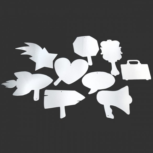 Set pictograme pentru Afirmatii Vizuale, ShapeOne, set Standard