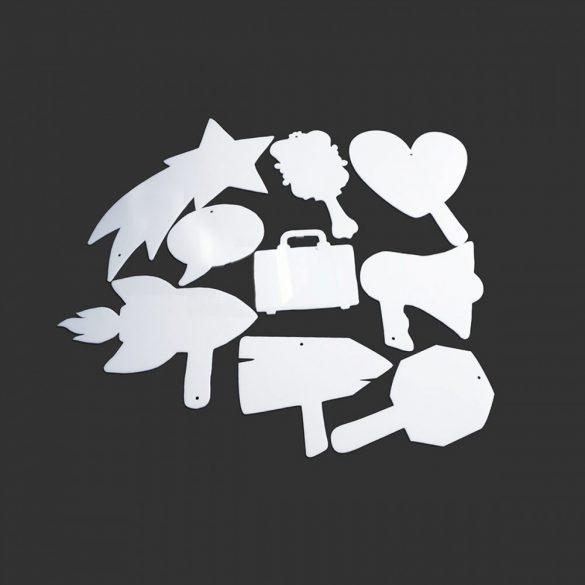Set pictograme pentru Afirmatii Vizuale, ShapeOne, set Mini