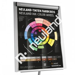 Poster Neuland Ink Color Wheel