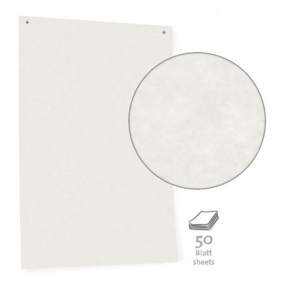 Hartie tabla Pinboard, Alb, 50 file, 80 g/m²