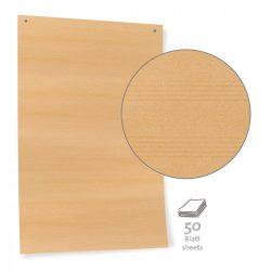 Hârtie Panou textil Neuland Pinboard, Maro,100 file