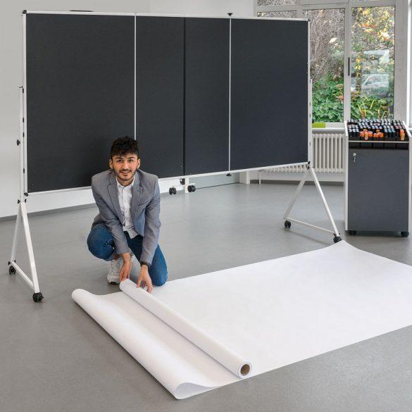 Rola Hartie Panou Prezentare GraphicWall V3, Alb, 80 g / m², 25 m