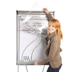 Transparent Sheets for flipcharts