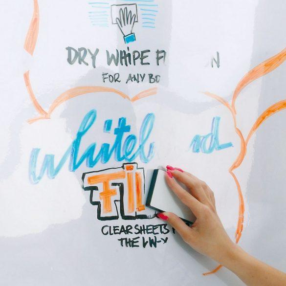 Folie transparentă Flipchart