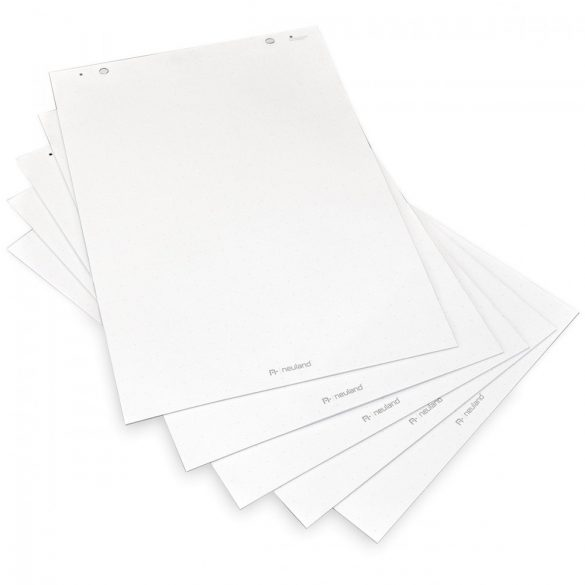 Rezerva Hârtie Flipchart TopChart, liniatura punctata, 100 coli/top