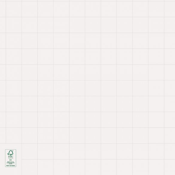 Rezerva Hârtie Flipchart,  Alb lucios, liniatură matematică, 100 coli/rolă
