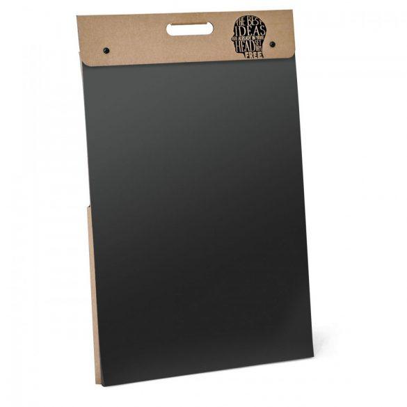 Hartie flipchart neagra mini pentru TableTop FlipChart, 100 coli/top