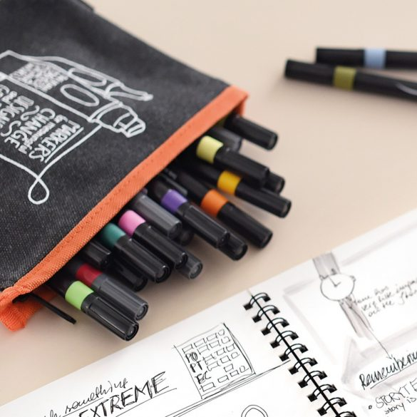 Borseta markere PocketOne