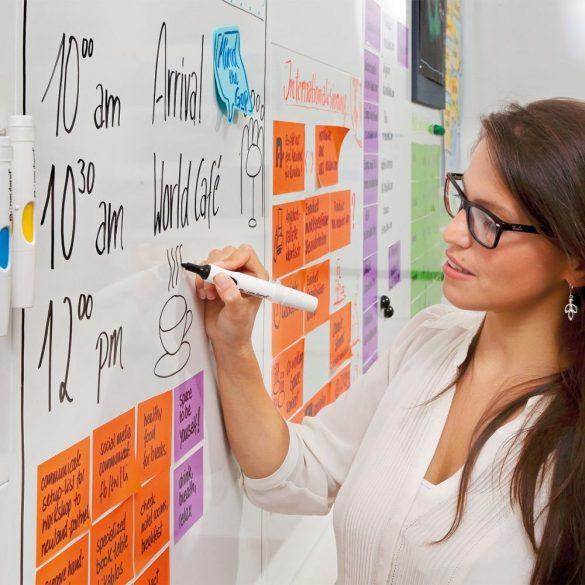ProcessWall Whiteboard 75 x 75 cm