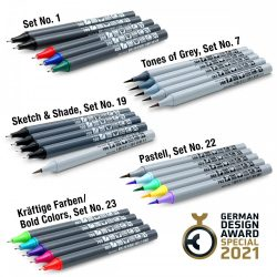 Set Markeri Neuland FineOne®: Sketch+Shade Set nr. 19