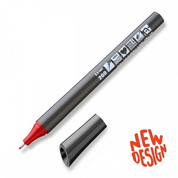 Sketchmarker Neuland FineOne® Sketch, 0.5 mm, Roșu (200)