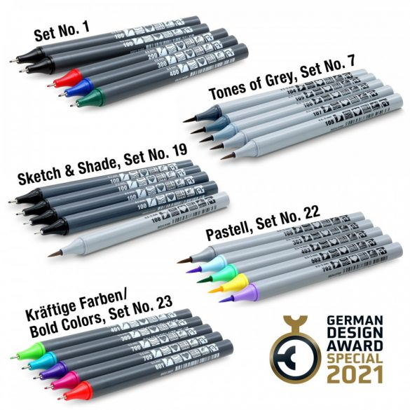 Set Sketchmarker Neuland FineOne® Sketch , 5/sets. Set nr. 1
