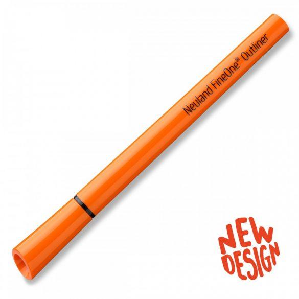 Marker Outliner cu varf pensula Neuland FineOne® Art, 0,5 - 5 mm