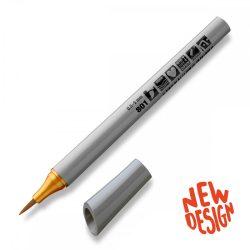 Marker Neuland FineOne® Art, 0.5-7 mm, vârf pensulă, Ocru Auriu (801)