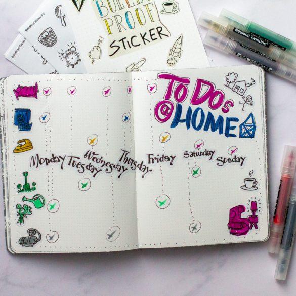 Set Bullet journal