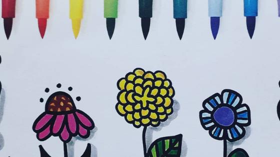 Re-colorează primăvara cu markerele Neuland!