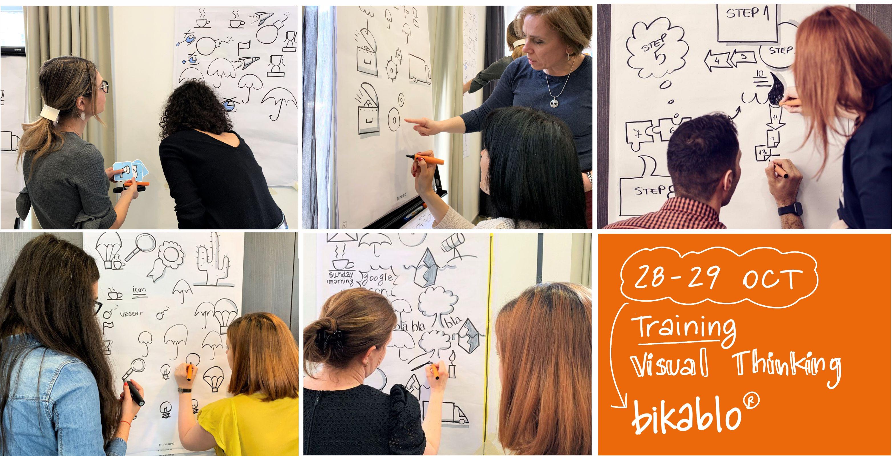 TRAINING VISUAL THINKING BIKABLO® 28 - 29 OCT