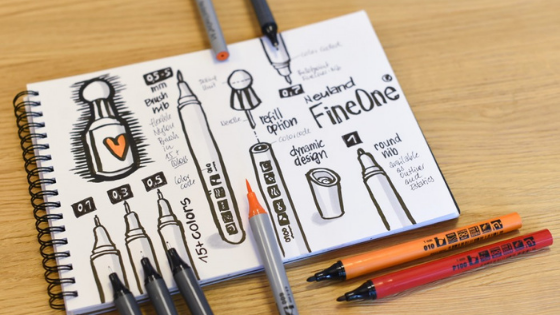Markerele Neuland FineOne® – instrumentul de scris universal
